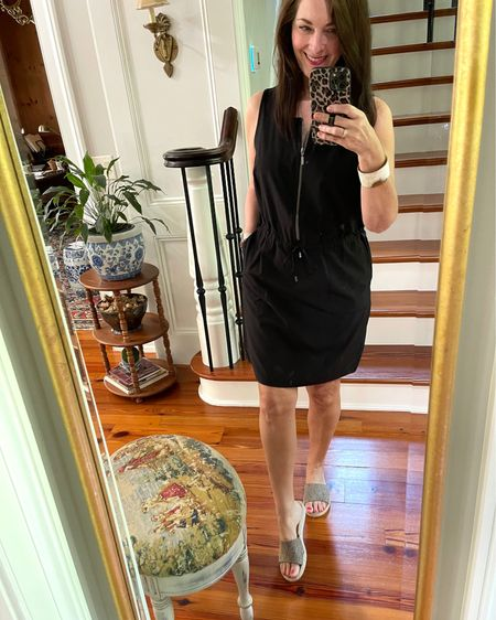 This Chico's black dress is perfect for summer errands, night out and travel! It's lightweight and so flattering!   http://liketk.it/3gRjo #liketkit @liketoknow.it #LTKunder100 #LTKstyletip @liketoknow.it.home You can instantly shop my looks by following me on the LIKEtoKNOW.it shopping app