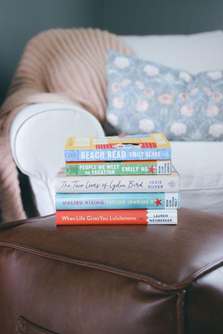 My current book stack!  #LTKhome #LTKSeasonal #LTKunder50