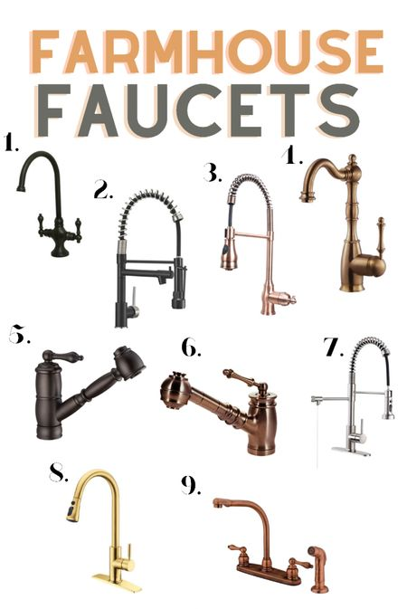 Farmhouse / vintage faucets for the kitchen   #LTKstyletip #LTKfamily #LTKhome
