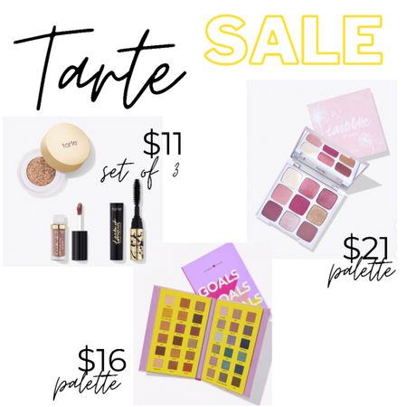 Makeup sales are the best sales  Makeup Eyeshadow palette  Tarte sale Sale beauty Mascara Fotd Face of the day Face the day  Skincare secrets   #LTKbeauty #LTKunder50 #LTKsalealert