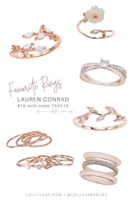 Fav rings are on sale ✨  #LTKSale #LTKsalealert #LTKGiftGuide