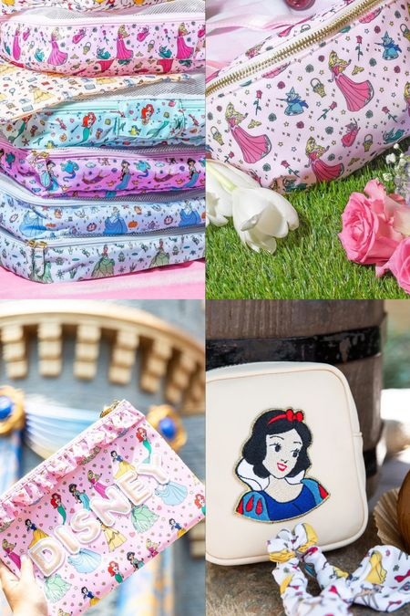 The Disney Princess collection from Stoney Clover Lane just dropped today! So many cute pouches, packing cubes, scrunchies, backpacks, and more 💗✨ | Stoney Clover, Packing, Travel   #LTKtravel #LTKstyletip