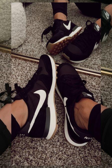 Nikes on sale! Nordstrom sale Nordstrom anniversary sale retro nikes casual look  black sneakers #nsale    #LTKshoecrush #LTKsalealert #LTKstyletip