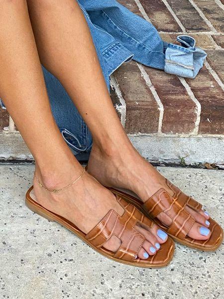 Sandals on sale size 7   #LTKsalealert #LTKshoecrush #LTKunder100