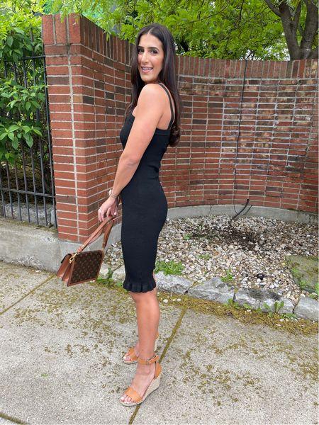 Little black dress from Walmart fashion, wedding guest dress   #LTKstyletip #LTKunder50 #LTKwedding