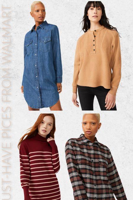 4 must-have pieces from Walmart! #walmart #walmartfashion #fallfashion  #LTKSeasonal #LTKunder50 #LTKstyletip