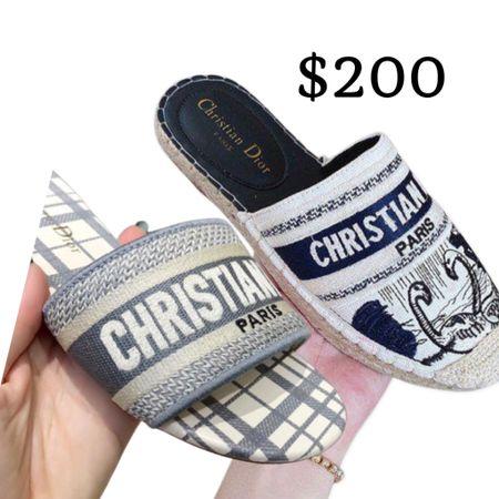 Dior slides   #LTKshoecrush #LTKtravel #LTKworkwear