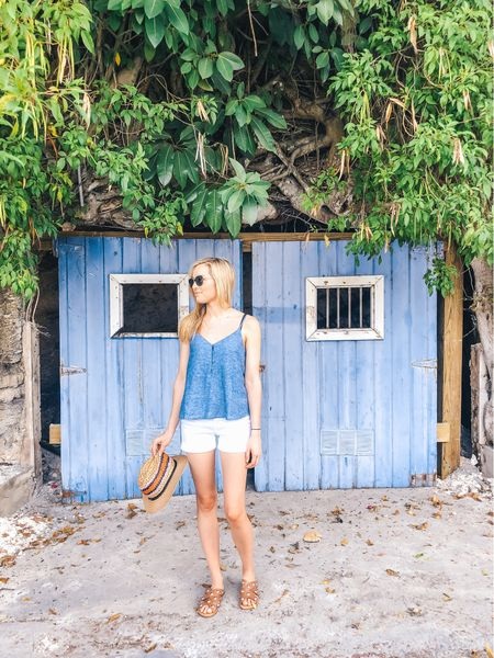 It was so nice to finally escape the never-ending cool weather and trade it for breezy tanks and short shorts! 💙 Harbour Island is full of pastel inspiration, beautiful hideaways and friendly faces. So grateful for this place. ✨ Also, my sandals are in major sale and I'm fully obsessed! http://liketk.it/2Cj8e #liketkit @liketoknow.it #LTKshoecrush #LTKtravel #LTKunder50 #LTKsalealert