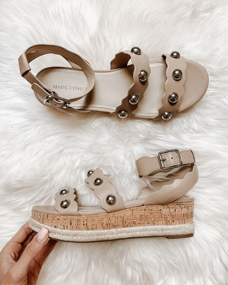 Found these cute wedge espadrilles! I love the silver studded sandals so I linked a ton that were similar and all under 50!! #LTKunder50 #LTKshoecrush http://liketk.it/3gbJb #liketkit @liketoknow.it