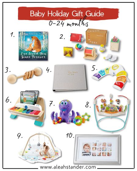 Holiday gift guide for baby, baby gifts, baby gift ideas, baby gift ideas for boys, toddler gifts, play mat for baby, toy subscription box, Montessori toys  #LTKkids #LTKbaby #LTKGiftGuide