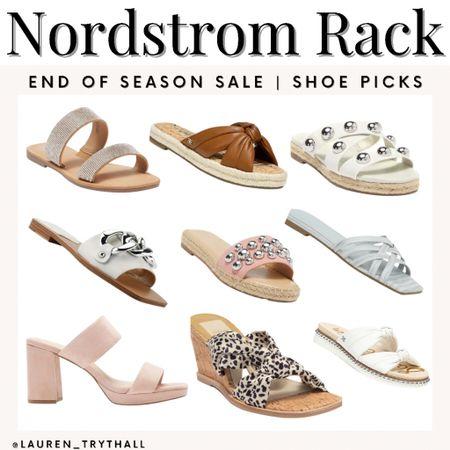 some great shoe finds at nordstrom racks end of season sale   #LTKSale #LTKunder50 #LTKsalealert