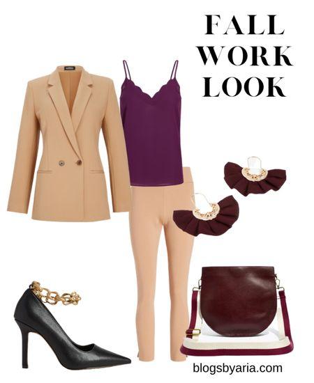 Get this fall office look on sale! Fall workwear  #LTKworkwear #LTKsalealert  #LTKSale #LTKSeasonal #LTKstyletip