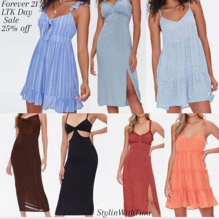 Forever 21 LTK Day sale!! Great dresses for spring and summer. Super casual can dress up or down http://liketk.it/3hjk6 #LTKunder100 #LTKsalealert #LTKDay #LTKstyletip #LTKunder50 #LTKworkwear #LTKshoecrush #LTKtravel #LTKbeauty #LTKfamily @liketoknow.it #liketkit  #ltkdresses#summerdress #springdress