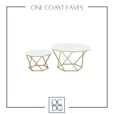 http://liketk.it/3iPQQ These nesting tables are so gorgeous, am I right!? Y'all know I am all about the brass! #liketkit #LTKhome @liketoknow.it @liketoknow.it.home Follow me on the LIKEtoKNOW.it shopping app to get the product details for this look and others