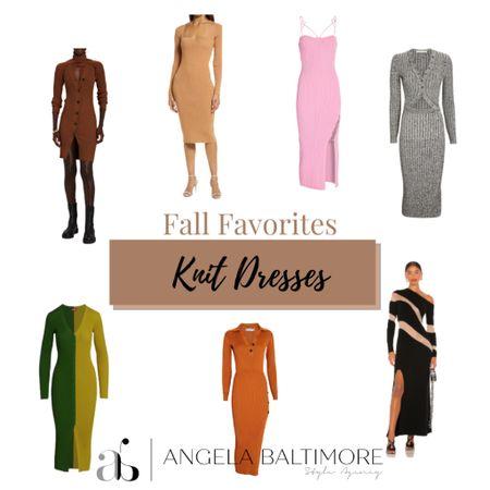 Shop some of my favorite fall dresses.   #falldresses #falloutfits #fallwedding #knitdresses  #LTKworkwear #LTKSeasonal #LTKSale