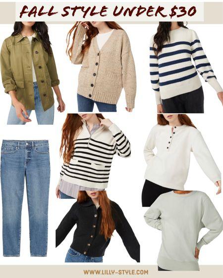 Chic fall  fashion finds under $30  #ltkunder30   #LTKstyletip #LTKsalealert