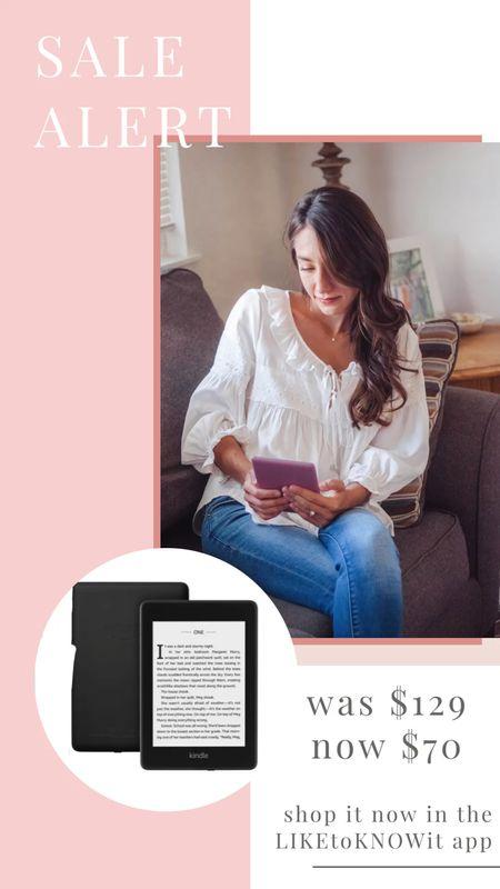 Kindle is Amazon's deal of the day! On sale for $70!   #LTKsalealert #LTKbacktoschool #LTKunder100
