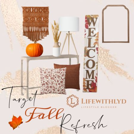🍂🍁 Fall is coming quick & what a good way to jump back into #lifewithlyd!  I will be getting all my #fall items out this week & I am EXCITED.  Here are several staples from #target that show a soft love for fall.   It's been a while so a fresh reminder- click link in bio to shop this pic ❤️   Also, thanks for sticking around the past few months. A lot has changed & I can't wait to share 😚    #LTKSeasonal #LTKunder100 #LTKfamily