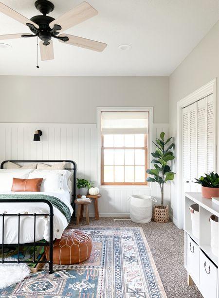 Modern transitional guest bedroom + playroom.   #LTKfamily #LTKkids #LTKhome