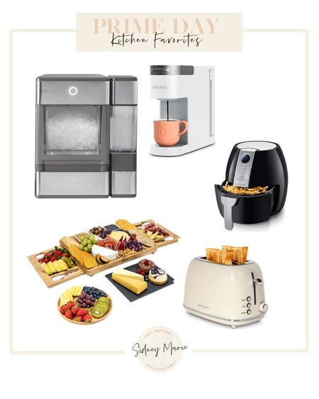 Amazon prime day kitchen deals  Charcuterie board Ice maker  Air fryer  White toaster  Keurig  @liketoknow.it http://liketk.it/3i8E3 #liketkit #LTKhome #LTKsalealert #LTKunder50