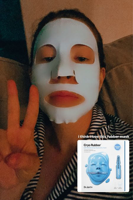 self care monday featuring white strips & a scary rubber mask that actually feels like heaven on the skin ✨  http://liketk.it/3hEAa #liketkit @liketoknow.it #LTKbeauty #LTKunder50 #LTKstyletip