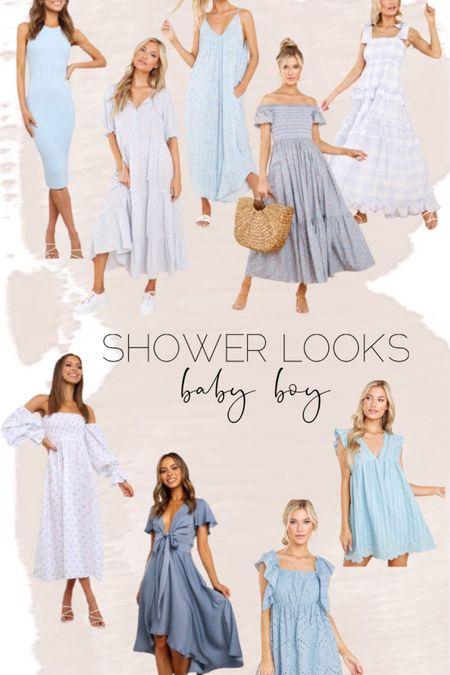 Baby boy shower looks // shower dresses // dresses // bump friendly // red dress http://liketk.it/3hSV4 #liketkit @liketoknow.it #LTKunder100 #LTKstyletip #LTKbump