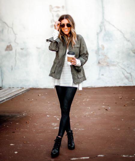Size small in this tee.  Code JENREED Size xs in jacket and leggings     #LTKstyletip #LTKtravel #LTKsalealert