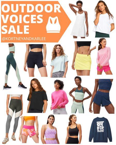 Outdoor Voices Sale!!! Get 20% off $100+ with code: LTK20  Outdoor voices dress | Outdoor voices tank | Outdoor voices the exercise dress | outdoor voices dress | outdoor voices shorts | outdoor voices biker shorts | outdoor voices leggings | outdoor voices top | outdoor voices shirt | Kortney and Karlee | LTK Summer Sale | #kortneyandkarlee #LTKSummerSale #LTKDay #LTKDay21 #LTKunder50 #LTKunder100 #LTKsalealert #LTKstyletip #LTKSeasonal #LTKswim #LTKtravel #LTKfit @liketoknow.it #liketkit http://liketk.it/3hysJ