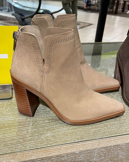 Nordstrom anniversary sale - Vince camuto booties 🤎 Fall must have booties  I sized up half size Linked the almost identical Steve Madden pair as well!   @liketoknow.it http://liketk.it/3jYbS   #liketkit #LTKsalealert #LTKshoecrush #LTKunder100