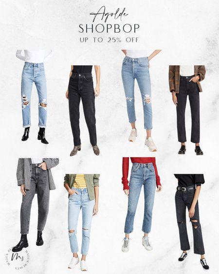 Agolde up to 25% off @Shopbop code STYLE agolde jeans agolde shorts http://liketk.it/3pxM2 @liketoknow.it #liketkit #LTKsalealert