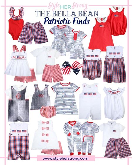 Fourth of July finds for kids from the Bella bean   Patriotic outfits   #LTKkids #LTKfamily #LTKbaby