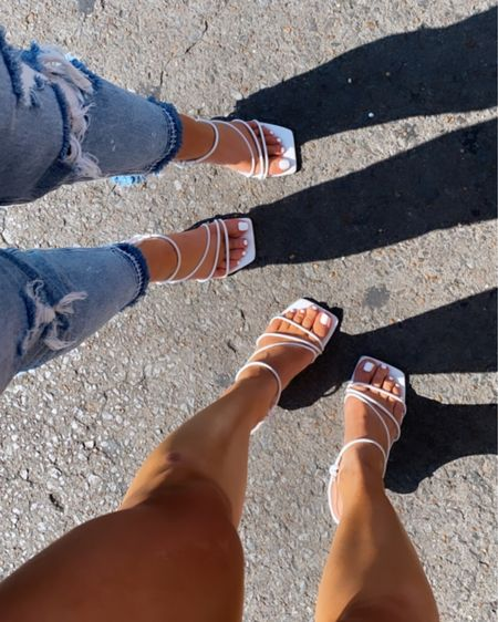The best heels ever. TTS  http://liketk.it/3hoHb #liketkit @liketoknow.it #LTKsalealert #LTKstyletip #LTKshoecrush