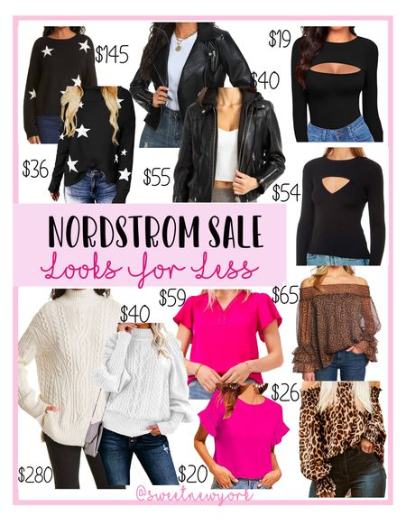 Rounding up some Nordstrom #NSALE tops and sweaters and Amazon looks for less   #LTKunder100 #LTKstyletip #LTKsalealert