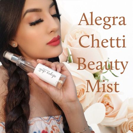 http://liketk.it/3gDIK #liketkit @liketoknow.it #LTKbeauty #LTKunder50 #LTKwedding ultimate glowing skin makeup setting spray, clean beauty ingredients, longest lasting makeup, smells amazing