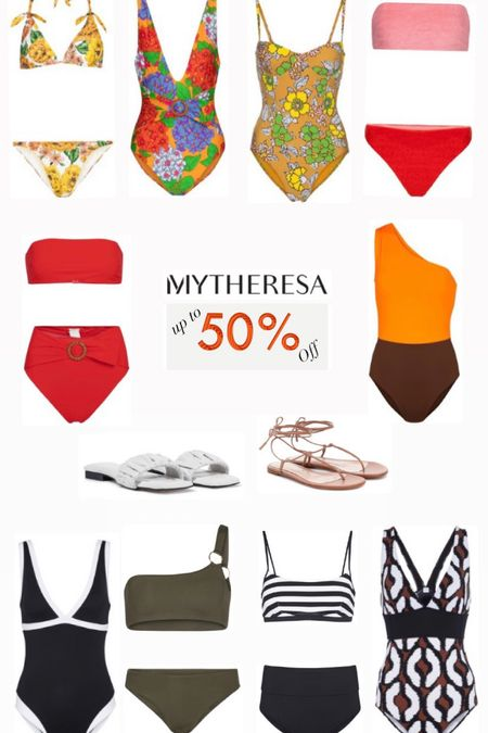 My Theresa SALE up to 50% off! Swimsuits and sandals.  #LTKSeasonal #LTKsalealert #LTKswim