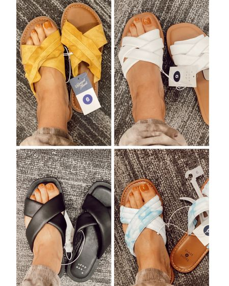 Target sandal try on!!!!! Such good prices! http://liketk.it/3dXKm #liketkit @liketoknow.it.home #LTKunder50 #LTKunder100 #LTKstyletip @liketoknow.it