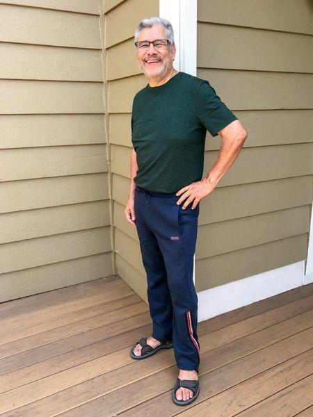 Father's Day Gift Idea: Hugo Boss super soft regular fit t-shirt. This is my dad!  Runs small, order a size up. #competition     #LTKunder100 #LTKSeasonal #LTKsalealert @liketoknow.it #liketkit http://liketk.it/3gPwS