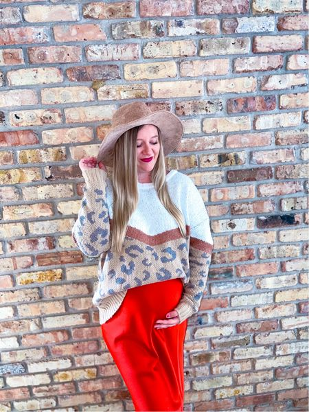 The cutest fall look that is bump friendly!! Neither item is maternity!   #LTKbump #LTKstyletip #LTKunder50
