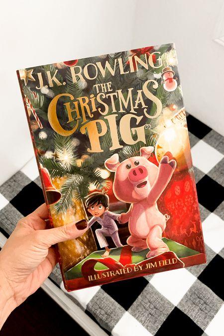 The Christmas pig // cute Christmas gift