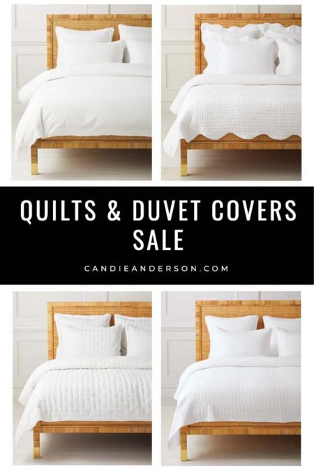 Best Serena & Lily quilts sale. Duvet covers sale. White bedding sale. Neutral bedding sale. Summer bedding discount. Master bedroom bedding. Guest bedroom bedding. ❤️ http://liketk.it/3hpqq #liketkit @liketoknow.it #LTKsalealert #LTKhome @liketoknow.it.home Shop your screenshot of this pic with the LIKEtoKNOW.it shopping app Shop my daily looks by following me on the LIKEtoKNOW.it shopping app