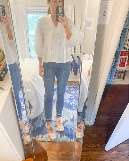 Told you this top would be on repeat! A comfy yet cute outfit for my trip to the office this week. @liketoknow.it #liketkit http://liketk.it/2ODby