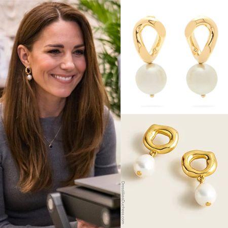Replikate earrings at JCrew #under50 #under25 #pearls #jewelry   #LTKstyletip #LTKunder50