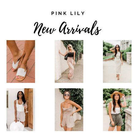 Pink Lily neutrals, sandals, two piece sets, rompers http://liketk.it/3hKiX #liketkit @liketoknow.it #LTKunder50 #LTKtravel #LTKsalealert
