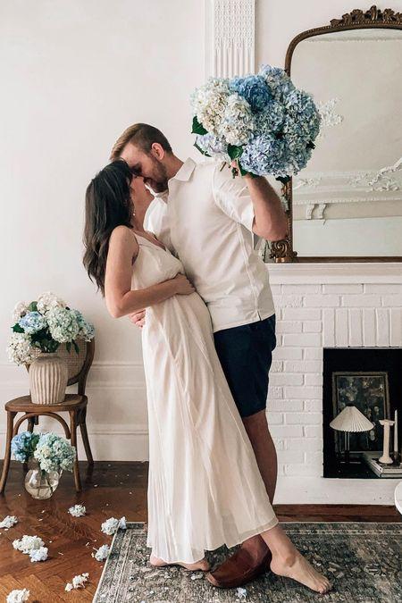 Maxi Dress on SALE (white dress, maternity dress, bump style)     #LTKunder100 #LTKbump #LTKsalealert
