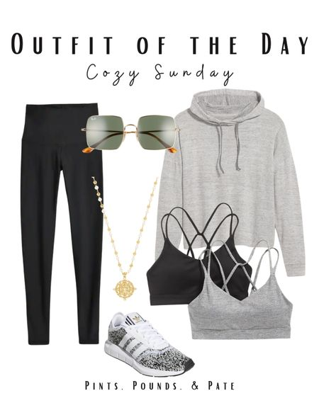 The perfect athleisure outfit for a cozy Sunday running errands! Just bought these sneakers 😍  #LTKfit #LTKunder100 #LTKstyletip