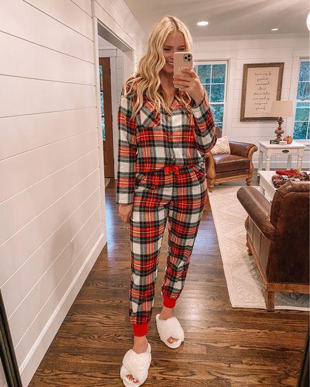 Old Navy Christmas pajamas 50% off! http://liketk.it/31aX2 #liketkit @liketoknow.it #LTKunder50 #LTKunder100