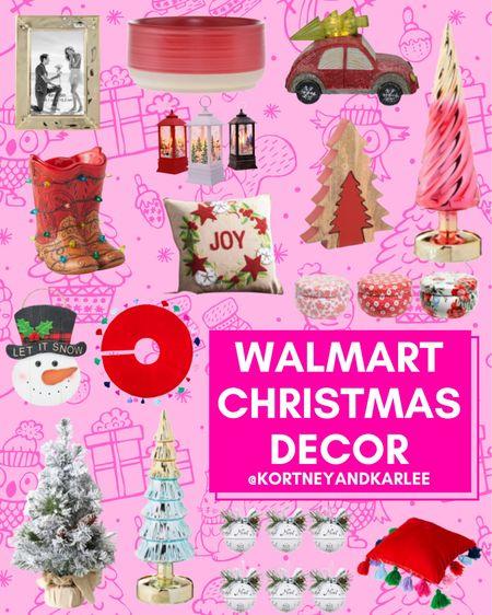 Walmart Christmas Decor!  Christmas home decor | Walmart Christmas finds | Walmart Christmas favorites | Walmart Christmas home decor | Walmart home decor | walmart decor | walmart home finds | walmart home favorites | Walmart home decor favorites | new Walmart home decor | Walmart winter home decor | winter home decor | winter home decor from Walmart | Kortney and Karlee | #Kortneyandkarlee @liketoknow.it #liketkit  #LTKunder50 #LTKunder100 #LTKsalealert #LTKstyletip #LTKSeasonal #LTKhome