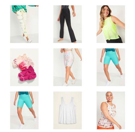 Activewear, lounge set, biker shorts,   Cute sock , tank , bootcut pants  #LTKsalealert #LTKfit