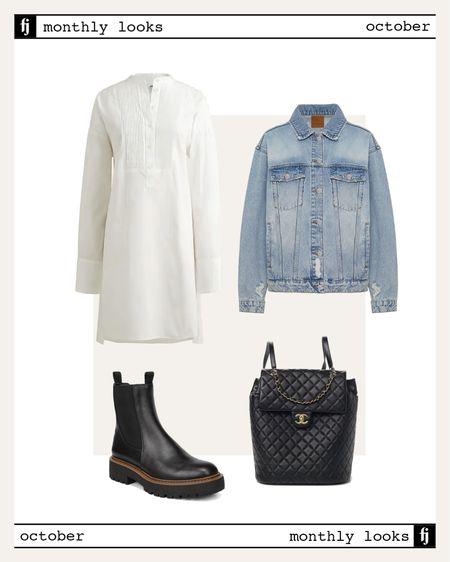 October fall outfit idea #falloutfits  #LTKunder100 #LTKunder50 #LTKstyletip