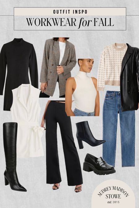 Fall workwear inspiration! Looks to transition your work wardrobe into cooler weather with blazers, boots, turtlenecks, and more!   #LTKSeasonal #LTKstyletip #LTKworkwear